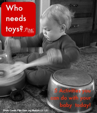Who needs toys? Free activities to do with your baby from our pediatric therapist.