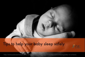 Tips to help baby sleep safely