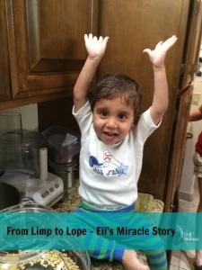 Eli's Miracle Story Shortened Femur Congenital