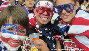 USA Soccer Fans at Women's World Cup 2011